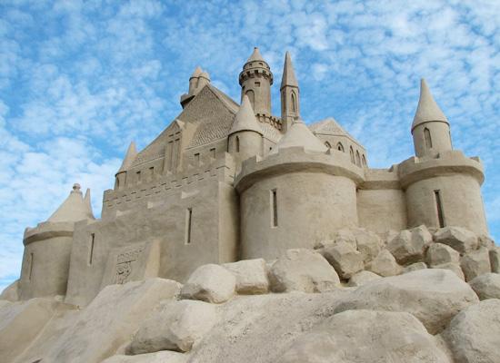 Песчаные скульптуры в лаппеенранте